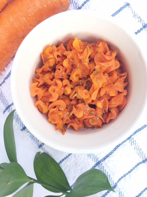 Crunchy Carrot Chips