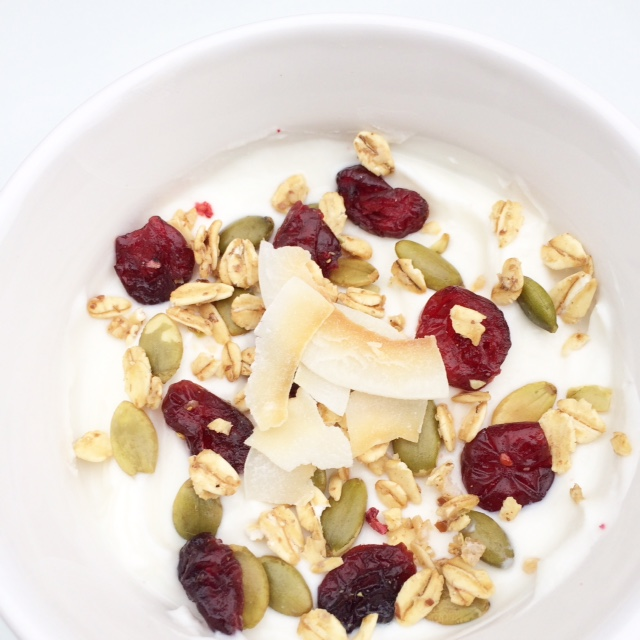 Vanilla Yogurt Pumpkin seed Parfait