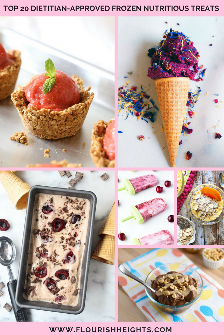 Top 20 Dietitian-Approved Frozen Nutritious Treats