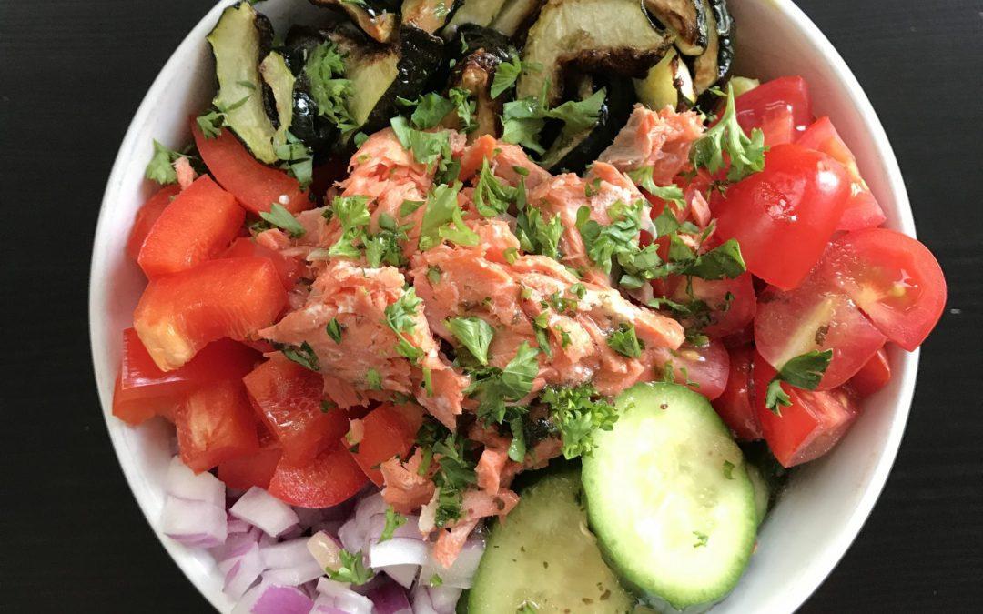 Mood Boosting Salmon Bowl